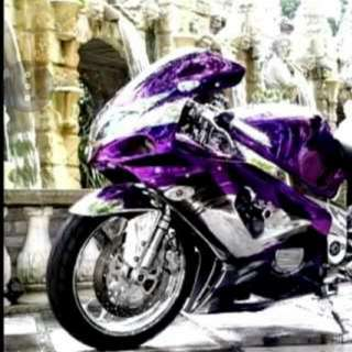 Chrome wrapping on Motorbikes / Bicycles / Cars