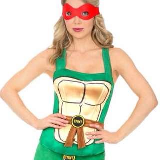 Halloween Ninja Turtle Corset