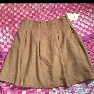 韓國絨布裙