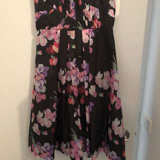 Collection Spring Racing Strapless Dress Size 12