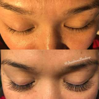 Eyelash extensions & threading