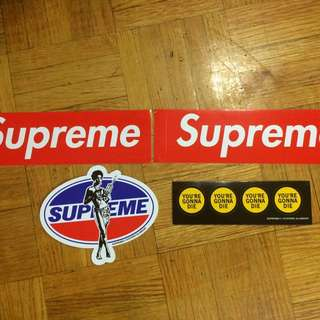 Supreme Stickers