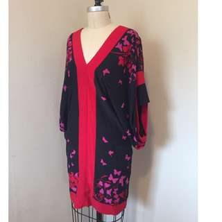 Silk Kimono - Richard Ruiz - Butterflies - $50