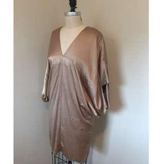 Silk Kimono - Richard Ruiz - Beige - $50