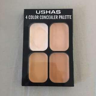 USHAS 4 colour concealer palette