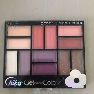 Palette Colour eyeshadow