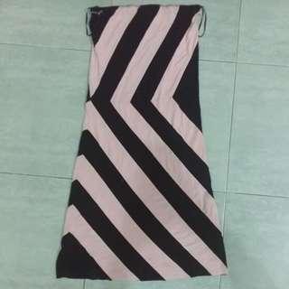 Stripe tube dress