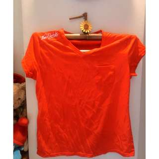 Baby Tee Red top