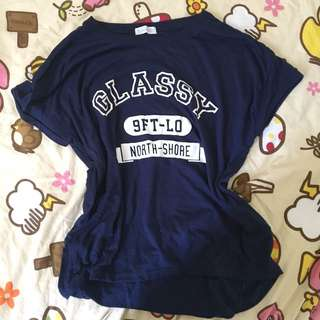Ehyphen navy top