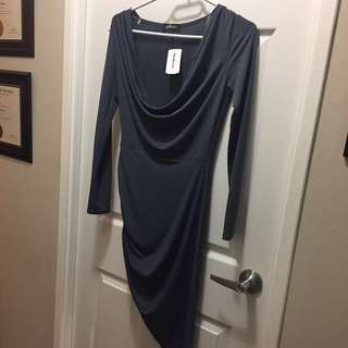 Mendocino GILBERT cowl neck dress size SMALL