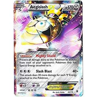 Pokemon card Aegislash EX