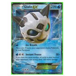 Pokemon card Glalie EX