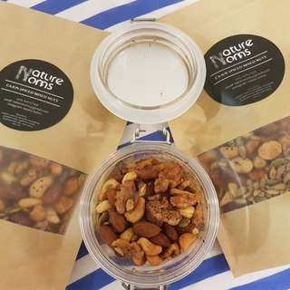 Cajun spiced mixed nuts