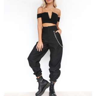 FOR RENT - I AM GIA cobain pant in black
