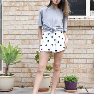 Her Pony the label - Polka dot shorts