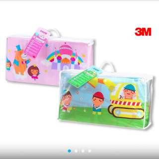 🚚 3M 兒童午安睡被袋 推土機/公主城堡