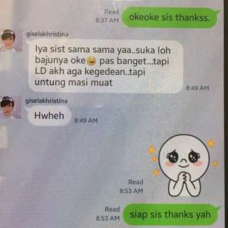Testi from happy cust ♥️