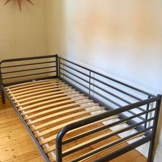 IKEA SVARTA single bed