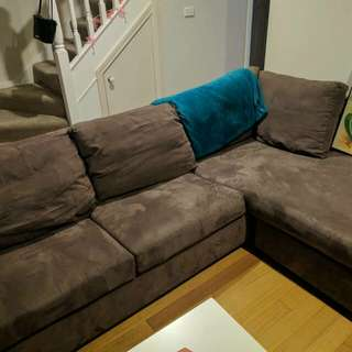 L-shaped couch large