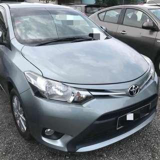Toyota Vios 1.5 Auto E Spec Tahun 2014