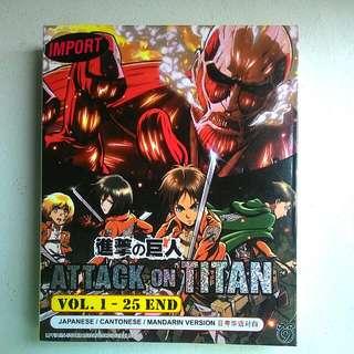 Attack On Titan Season 1 DVD