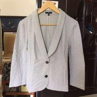 Gap two button cotton blazer