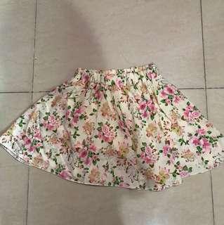 Mini dress floral