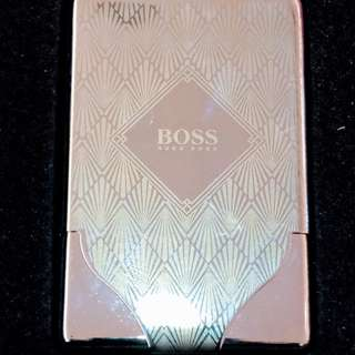 Hugo Boss Stainless steel Card Holder
