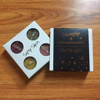 Colourpop Eyeshadow Kathleen Lights (Authentic)