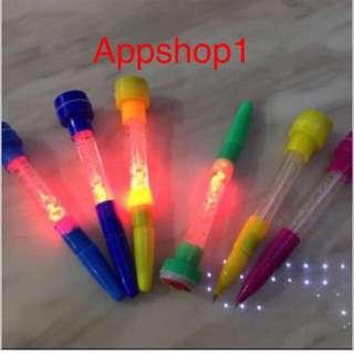 Fancy Stamp Bubble Pen - Children Party Goodie Bag, Door Gift