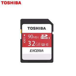 Toshiba 32GB SD EXCERIA™ - Memory Card N302 R 90mb/s - Made in Japan