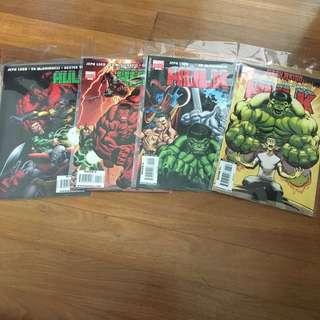 HULK issue 10-13