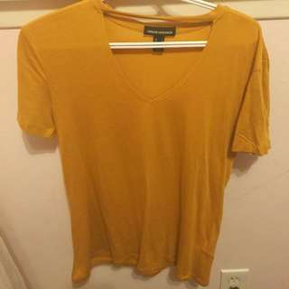 Cute mustard yellow top