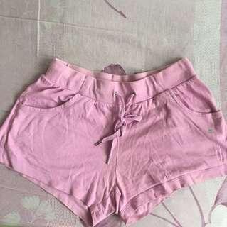 champion 棉質短褲 休閒短褲 運動短褲 粉色