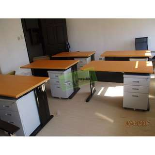 Free Standing Table l Workstation Partition Chairs Cabinet