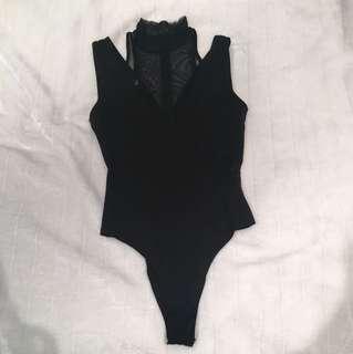 Black bodysuit Twiin brand