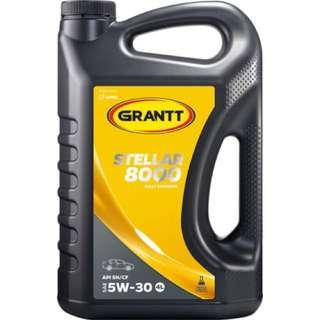 GRANTT STELLAR 8000 SAE 5W-30 ( Fully Synthetic Engine Oil / Minyak Hitam Fully Sintetik)