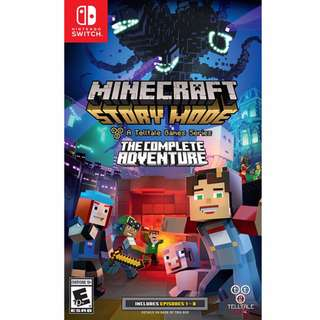 Nintendo Switch Minecraft Story Mode: The Complete