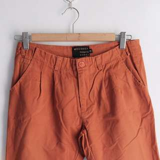 Chino Pants Terracota