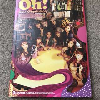 Girls Generation Oh! Album