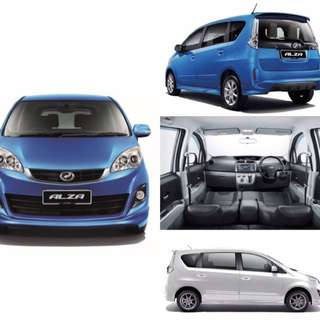 Alza S(A)DVD,REVERSE CAM,LEATHER SEAT,HEADREST MONITOR
