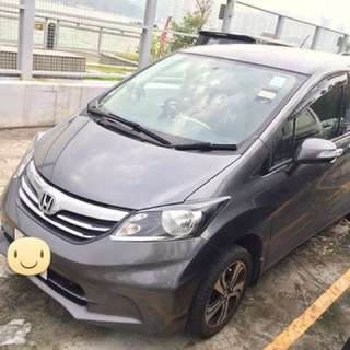 Honda Freed 09 (12-14 outlook)