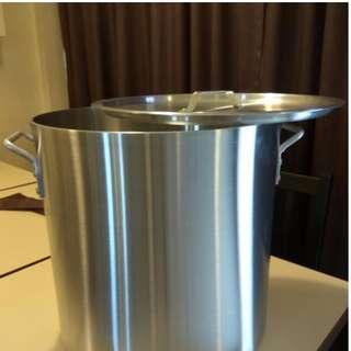 Aluminum Big Pot 40qt With LID New