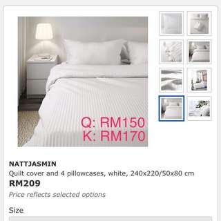 IKEA Nattjasmin Quilt Cover
