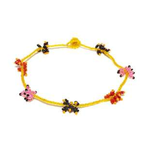 Glass beads anklets