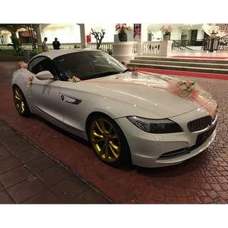 BMW Z4 35i for wedding car