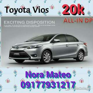 Ber-Months Promo Toyota Vios super low down Payment!Hurry up Grab yours now