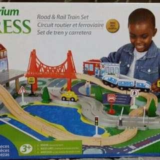 Imaginarium Road and Rail Train Set