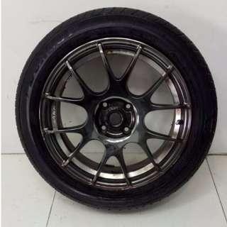 16 '' Sport Rim With Tyre 4x100 (SR708)