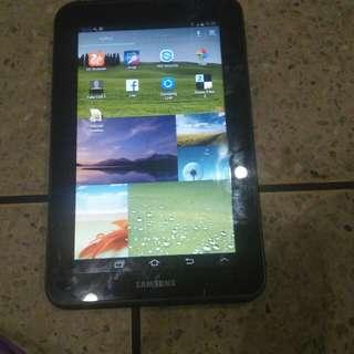 Dijual tablet samsung galaxy tab 2